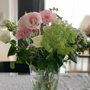 お花飾ったからね