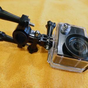 アクションカメラ取付
