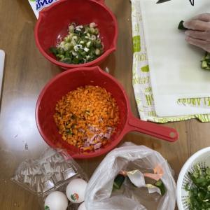 「障害を持つ方対象の料理教室」終了