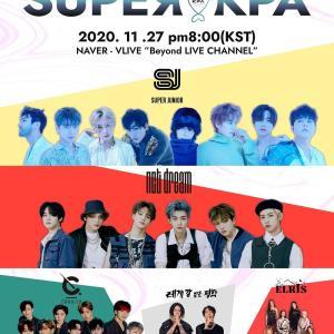 2020K-POP×K.ARTCONCERT SUPER KPA★SJ 201127
