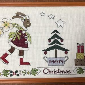 クリスマス・ラビット♪完成しました♪