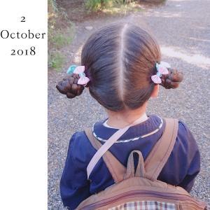 ◆娘のヘアアレンジ記録(31)