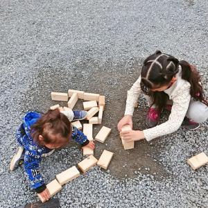 ◆廃材を使って子どもたちと遊ぶ