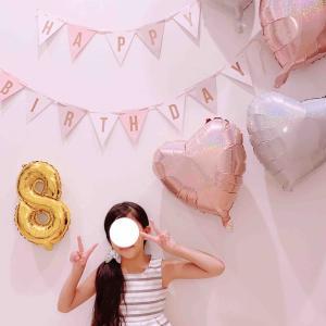 ◆娘8歳の誕生日♡ 成長記録。