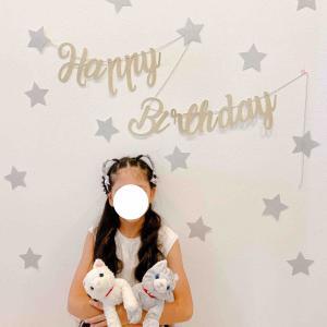 ◆娘9歳の誕生日♡ 成長記録。