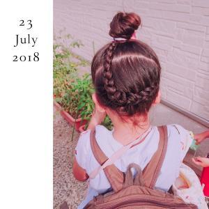 ◆娘のヘアアレンジ髪型(26)