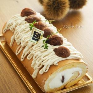 栗の米粉ロールケーキ