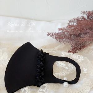 小顔効果のブラックカラー入荷