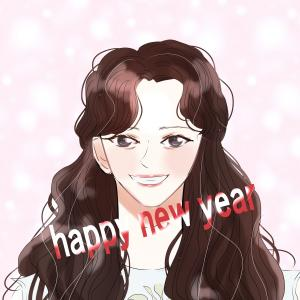 ☆あけましておめでとうございます☆今年も亀さんペースでお絵描きします(^^)