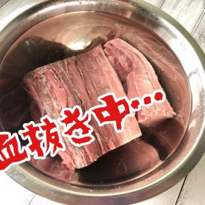 初♡マグロの血合いを食べる!