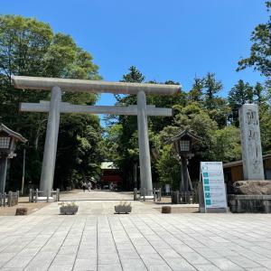 鹿島神宮へ行ってきました!