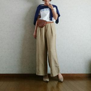 【coordinate】ゆるリラックスな秋の運動会コーデ