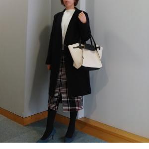 【coordinate】スタイルアップなタイトスカートコーデ