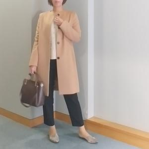 【coordinate】クロコ型押しバッグで高見えパンツコーデ