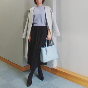 【coordinate】プリーツより好みだったUNIQLOスカート