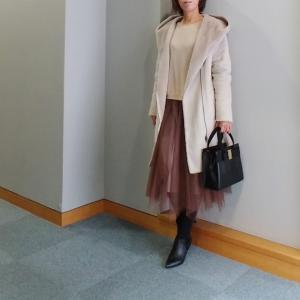 【coordinate】褒められチュールスカート