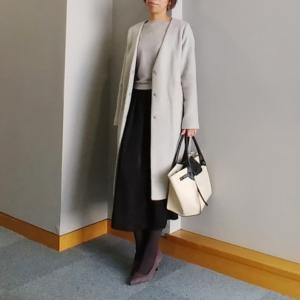 【coordinate】UNIQLOふんわりスカートで2色コーデ