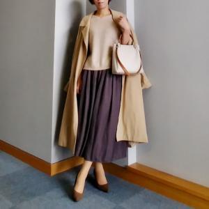 【coordinate】UNIQLOふ~んわり高見えスカート
