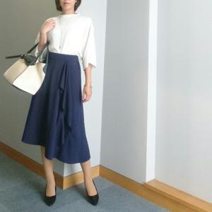 【coordinate】この形好き♪なスカートで雨対策コーデ