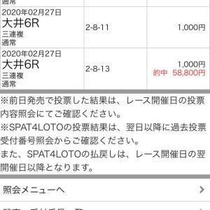 2/28大井競馬最終日