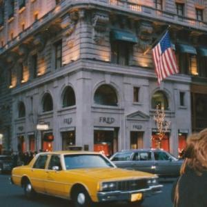 """私の""""涙くんさよなら""""を告げた時、NYへ"""