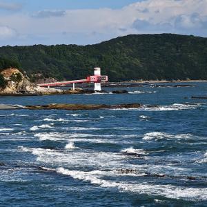 足摺海底館と叶﨑灯台
