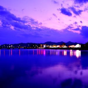 国分川の夜景