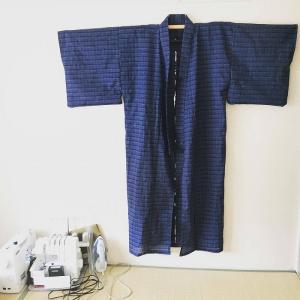 和裁を習わなくてもOK!型紙で着物を作ってみた