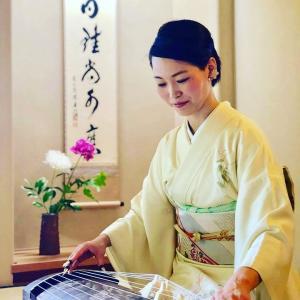 イベント「京の優雅な遊び。琴に抹茶、和菓子、着物。」が大成功でした