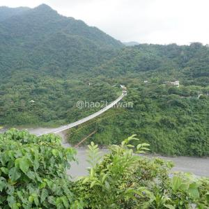 スリルと絶景が味わえる屏東三地門の山川琉璃吊橋を渡ってみた