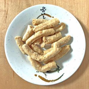 海邊走走のカリカリサクサク新鮮魚骨頭酥をお土産にもらったので食べてみた