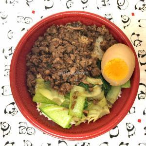 東京上野の新竹で定番の客家丼と魅惑の滷肉丼を食べ比べてみた