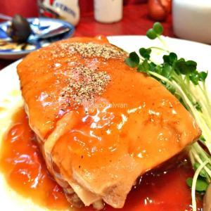 東京巣鴨の台湾で圧巻の大きさを誇る角煮定食と旨味を凝縮した鉄玉子を食べてきた