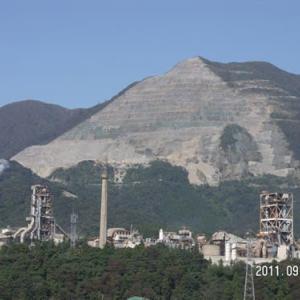 武甲山によく似た藤原岳と鉱業法