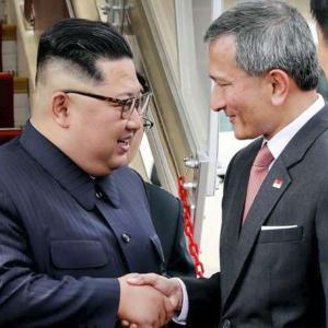正恩氏、シンガポール到着 史上初の米朝首脳会談へ