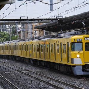 車両故障に伴う、交換が行われた新宿線 7月9日