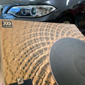 カーオーディオ東京|BMW220i MORELイレイトカーボンMM3+MT450で極上サウンド