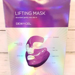 「弛み」を持ち上げる粘着マスク【DEWYCEL LIFTING MASK】使用レポ