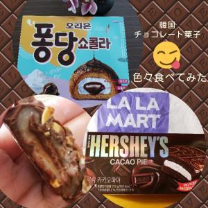 買わずにいられないチョコ土産「韓国のチョコ菓子、色々食べてみました」