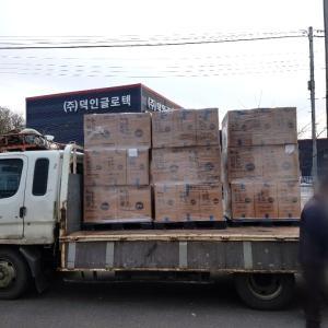 韓国から届く韓国価格の必需品とクリスマスコフレ