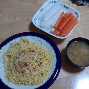 「お忙しい方にこそ!!」と、スパゲッティ