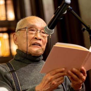 【詩人・谷川俊太郎先生と一緒の時代を生きているということ】