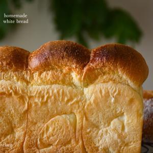 キタノカオリとイースト0.8gで山食パン、微サフ焼く時の休日の時間配分