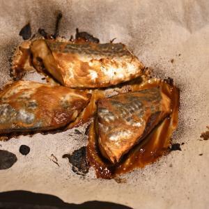 サワラの味噌漬けをヘルシオグリルモードでふわふわに
