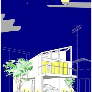 夜景風スケッチ