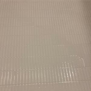 お風呂の床タイルの黒ずみがピカピカ