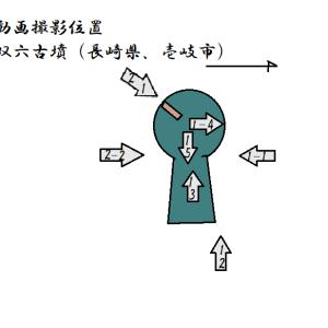 双六古墳(壱岐市)(長崎県)(後期)■Souroku Tumulus (Nagasaki Pref.)