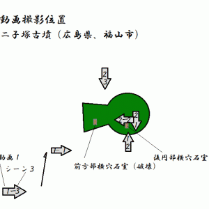 二子塚古墳(福山市)(広島県)(後期)Futagozuka Tumulus(Fukuyama)(Hiroshima Pref.)