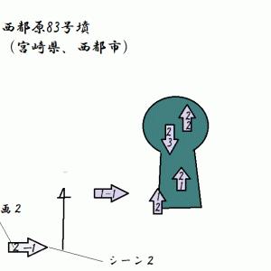 西都原83号墳(西都原古墳群7)(西都市)(宮崎県)(前期)Satitobaru No.83 Tumulus(Miyazaki Pref.)