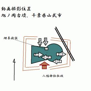 旭ノ岡古墳(山武市)(千葉県)(後期)Asahinooka Tumulus (Chiba Pref.)